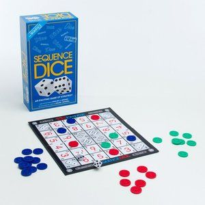New Sequence Dice Board Game